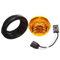 Truck-Lite 30085Y 30 Series LED YellowRound 8 Diode High Profile M/C Light 12V, Kit