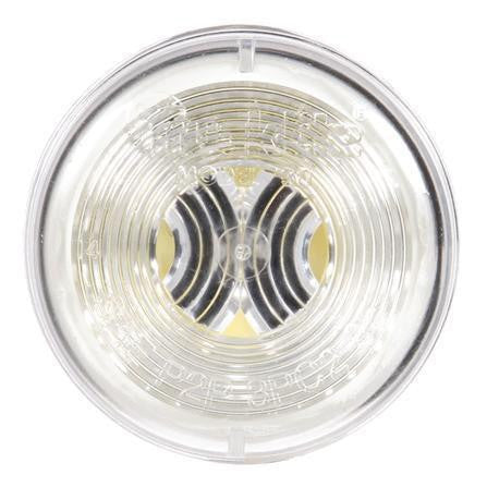 Truck-Lite 30200C 30 Series, Incan., 1 Bulb, Clear, Round, Utility Light, 12V