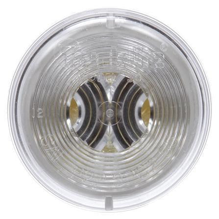 Truck-Lite 30206C 30 Series, Incan., 1 Bulb, Clear, Round, Utility Light, 24V
