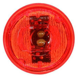 Truck-Lite 30270R 30 Series, LED, Red Round, 2 Diode, Low Profile, M/C Light, P3, 12V