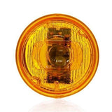 Truck-Lite 30270Y 30 Series, LED, Yellow Round, 2 Diode, Low Profile, M/C Light, P3, 12V
