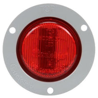 Truck-Lite 30272R 30 Series, LED, Red Round, 2 Diode, Low Profile, M/C Light, P3, Gray Flange, 12V