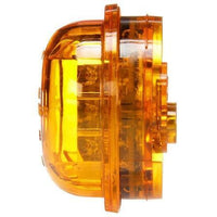 Truck-Lite 30275Y 30 Series, LED, Yellow Round, 8 Diode, High Profile, M/C Light, PC, 12V