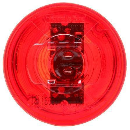 Truck-Lite 30276R 30 Series, LED, Red Beehive, 2 Diode, M/C Light, P2, 12V