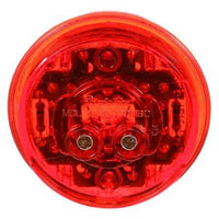 Truck-Lite 30285R 30 Series, LED, Red Round, 6 Diode, Low Profile, M/C Light, PC, 12V