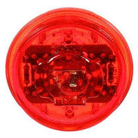 Truck-Lite 30385R 30 Series, LED, Red Round, 6 Diode, Low Profile, M/C Light, PC, 12V