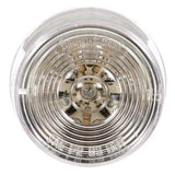Truck-Lite 3051 LED, Clear/Red Round, 10 Diode, M/C Light, P2, 12V