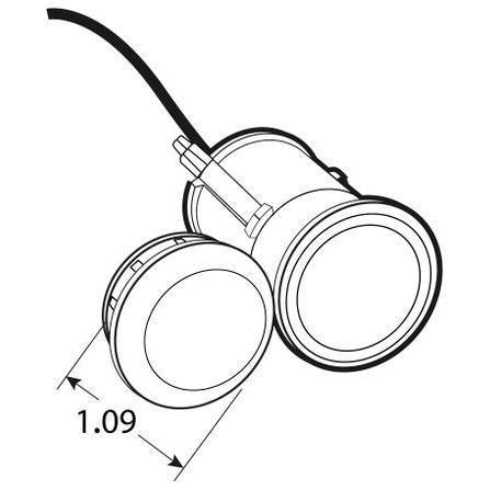 Truck Lite 33050r 33 Series Led Red Round 1 Diode Mc Light P2