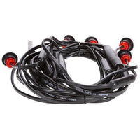 Truck-Lite 33751R 33 Series, LED, Red, Round, ID Light Assembly, Black, 12V, Kit