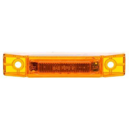 Truck-Lite 35004Y MILITARY 35 Series, LED, Yellow Rectangular, 2 Diode, Military, M/C Light, P3, 12-24V, Kit, Military Marker Clearance Light, Truck-Lite