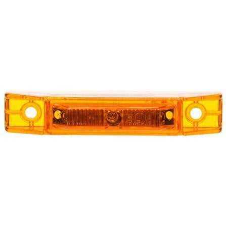 Truck-Lite 35007Y 35 Series, LED, Yellow Rectangular, 7 Diode, European Approved, M/C Light, ECE, 2 Screw, 12V, Kit, Marker Clearance Light, Truck-Lite