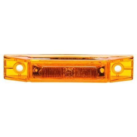 Truck-Lite 35209Y 35 Series, LED, Yellow Rectangular, 7 Diode, M/C Light, ECE, 2 Screw, 24V, Marker Clearance Light, Truck-Lite