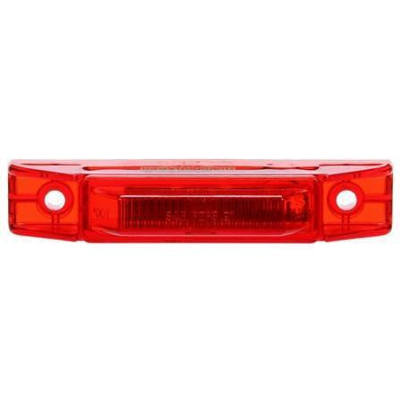Truck-Lite 35880R 35 Series, Diamond Shell, LED, Red Rectangular, 1 Diode, M/C Light, P2, 2 Screw, 12V, Marker Clearance Light, Truck-Lite