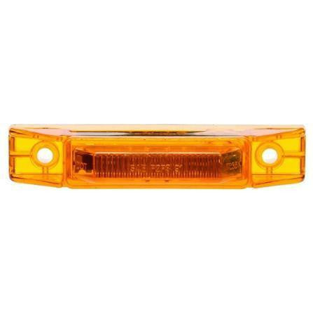 Truck-Lite 35890Y 35 Series, LED, Yellow Rectangular, 2 Diode, M/C Light, P2, 2 Screw, 12-24V, Marker Clearance Light, Truck-Lite