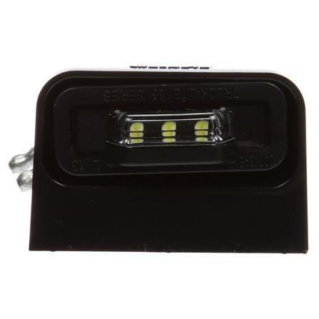 Truck-Lite 36042C 36 Series, LED, 3 Diode, Rectangular, License Light, Black Bracket, 12-24V, Kit, License Light, Truck-Lite