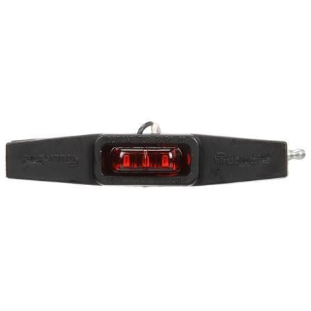 Truck-Lite 36100R 36 Series, LED, Red Winged, 3 Diode, Flex-Lite Side Exit, M/C Light, PC, Adhesive, 12V