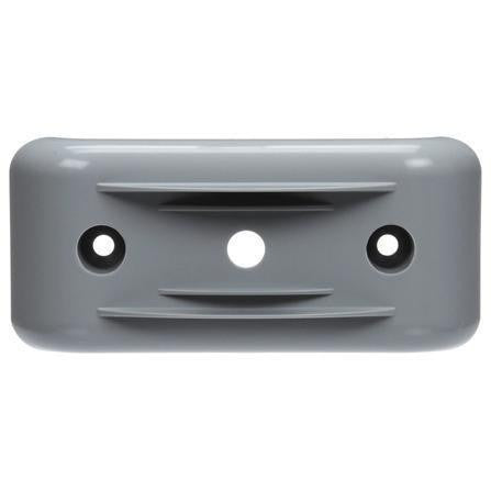 Truck-Lite 36705 Bracket Mount, 36 Series Lights, Rectangular, Gray, 2 Screw Bracket Mount