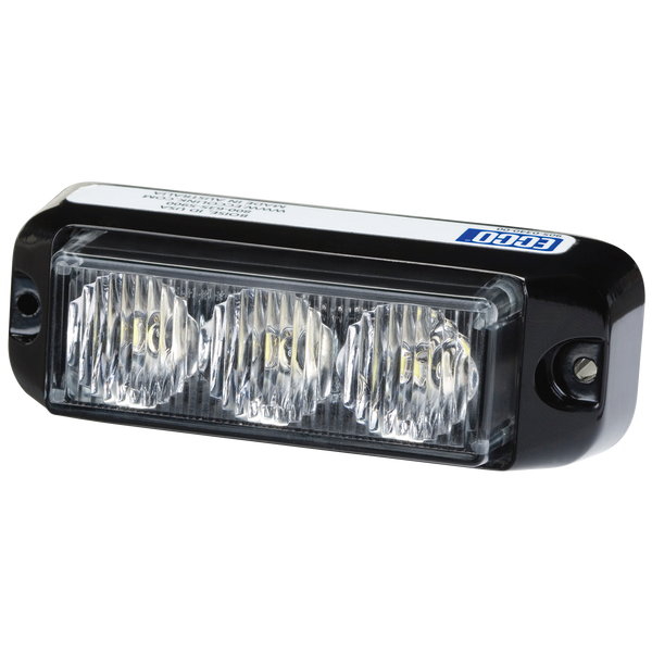 ECCO® 3735A Amber, Surface Mount, Directional LED Light - Levine Auto and Truck Lighting