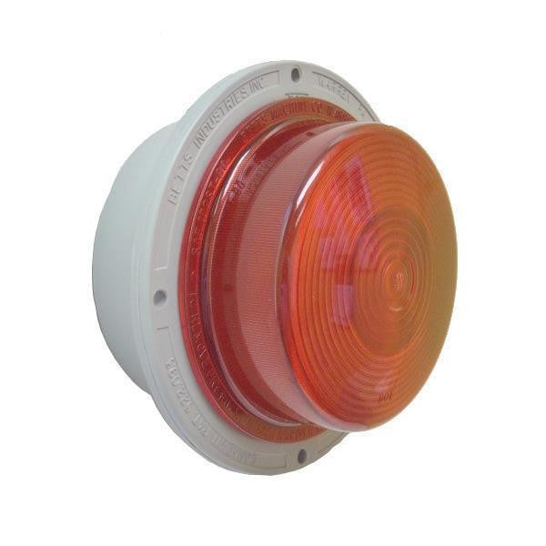 Betts 400038 Red, Incandescent Bulb, Deep, Stop or Turn, Single Contact, 12-volt
