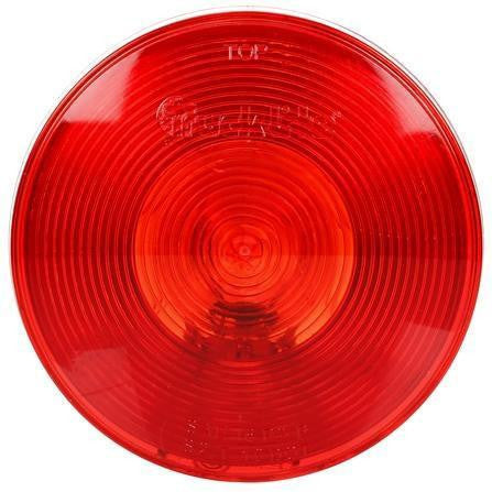 Truck-Lite 40006R 40 Series, Incan., Red, Round, 1 Bulb, S/T/T,  12V, Kit
