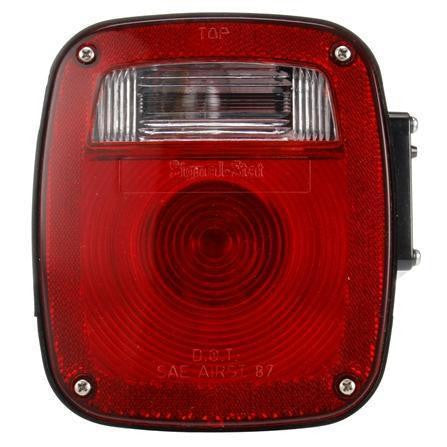 Truck-Lite 4015 Navistar Polycarbonate LH Combination Box Light 3 Stud License Light
