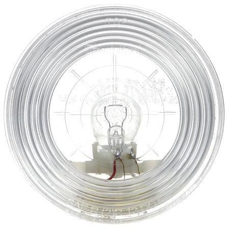 Truck-Lite 40206C 40 Series Incan 1 Bulb Clear Housing Round Back-Up Light 12V