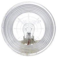 Truck-Lite 40211 40 Series, Incan., 1 Bulb, Clear, Round, Dome Light, 12V, Kit