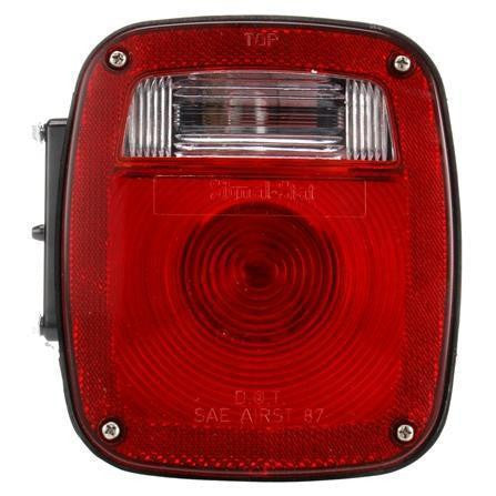 Truck-Lite 4023 Ford Polycarbonate RH Combination Box Light 3 Stud License Light