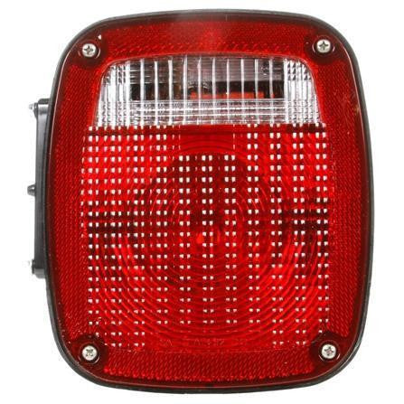 Truck-Lite 4023Y106 Freightliner Acrylic RH Combination Box Light 3 Stud License Light