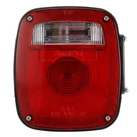 Truck-Lite 4024 Ford Polycarbonate LH Combination Box Light 3 Stud License Light