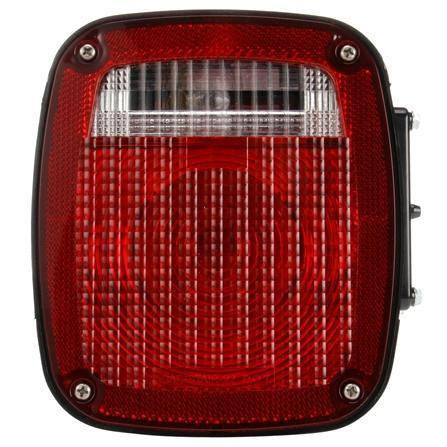 Truck-Lite 4024Y106 Freightliner Acrylic LH Combination Box Light 3 Stud License Light