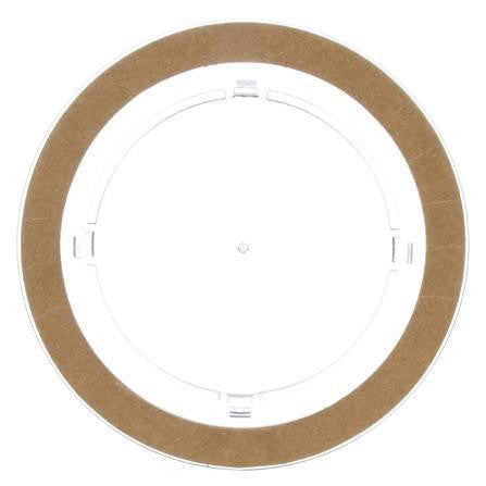 Truck-Lite 40271C Circular, Clear, Polycarbonate, Replacement Lens, Snap-Fit