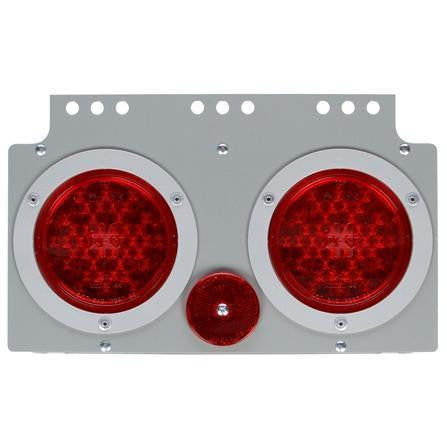 Truck-Lite 40626 Gray Steel 40 Series LED S/T/T Module, LH 12V