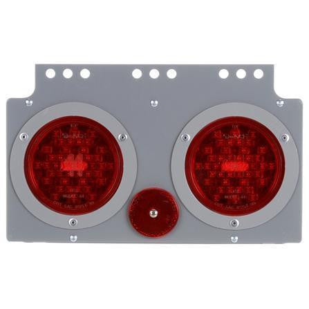 Truck-Lite 40627 40 Series, LED, S/T/T Module, RH, Gray Steel, 12V