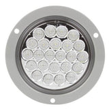 "Truck-Lite 4063C LED, 24 Diode, 4"" Round, Gray Flange, Back-Up Light, 12V, Back-Up Light, Truck-Lite"