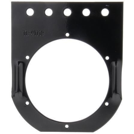 Truck-Lite 40719 40 Series, Flange Mount, 4 in Diameter Lights, Round, Black, 5 Screw Bracket Mount