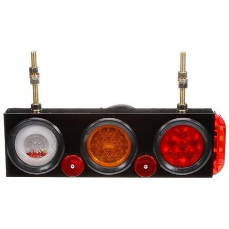 Truck-Lite 40808 40 Series, LED/Incandescent, Back-Up & S/T/T Module w/ Side Marker,  12V