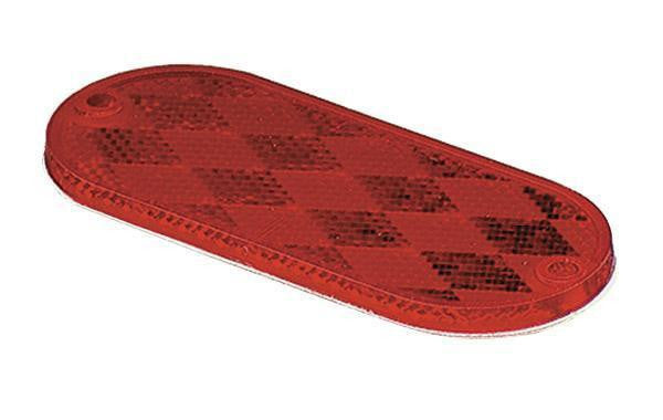 Grote 41042 Red Oval Reflector