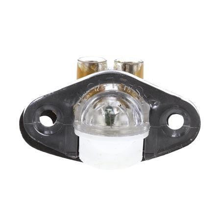 Truck-Lite 04115 Incan., 1 Bulb, Clear, Round, Courtesy Light, Clear, 2 Screw Bracket, 12V