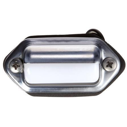 Truck-Lite 434WD Incan., 1 Bulb, Clear, Rectangular, Utility Light, 12V, Display