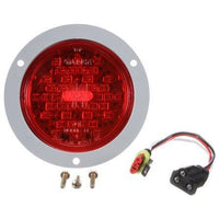 Truck-Lite 44022R Super 44, LED, Red, Round, 42 Diode, S/T/T,12V, Kit