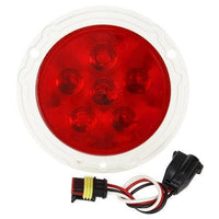 Truck-Lite 44038R Super 44, LED, Red, Round, 6 Diode, S/T/T, 12V, Kit