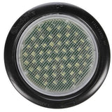 Truck-Lite 44042C 44 Series, LED, 54 Diode, Clear, Round, Dome Light, Black Grommet, 12V, Kit