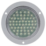 Truck-Lite 44046C 44 Series, LED, 54 Diode, Clear, Round, Dome Light, Gray Flange, 12V, Kit