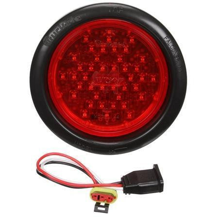 Truck-Lite 44082R Red Super 44 LED Round 42 Diode Stop Turn Tail Light