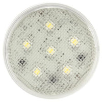 Truck-Lite 44308C Super 44, LED, 6 Diode, Clear, Round, Dome Light, 12V