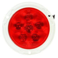 Truck-Lite 44357R Super 44, LED, Red, Round, 6 Diode, S/T/T, 12V