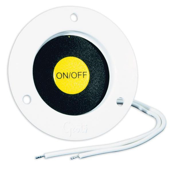 Grote 44380 Recessed Momentary Ground Switch White