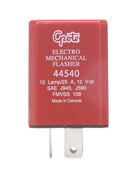 Grote 44540 12 Lamp Electromechanical Flasher- 3 Termical