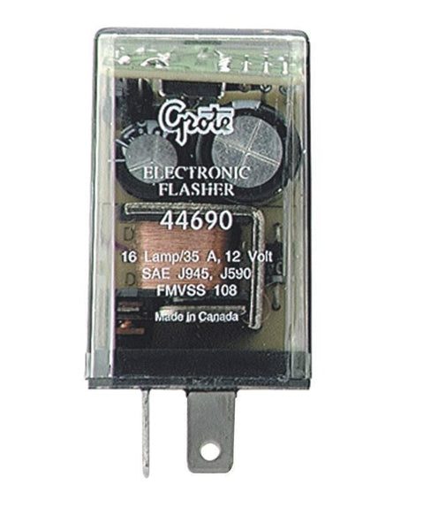 Grote 44690 16 Lamp Electronic Flasher- 2 Terminal